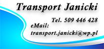 Krzysztof Janicki - Transport-Spedycja Janicki